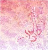 赤いバラのグランジ テクスチャ背景ライトピンク — ストック写真