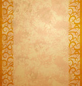 Gold brown background paper with vintage grunge — Stock Photo