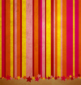 Stripes and stars colorful grunge background — Stock Photo