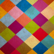 Colorful grunge squares background — Stock Photo