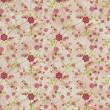 Flowers pattern paper grunge vintage background — Stock Photo