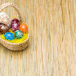Eggs in Easter Basket — Stock Photo #9211915