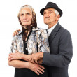 Elderly couple — Stock Photo #10380111