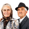 Elderly couple — Stock Photo #10380166