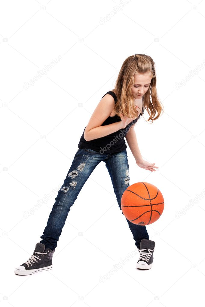 photo of girls playing basketball № 17648