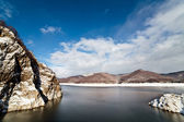 Barrage lake Vidraru — Stock Photo