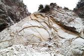 Steep cliff on a mountain — Stock Photo