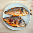 Stock Photo: Roasted dorada