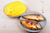 Roasted dorada — Stock Photo