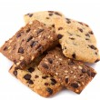 Cereal biscuits with chocolate — ストック写真