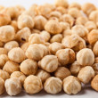 Raw hazelnuts - Stock Photo