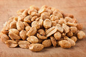 Salted and roasted peanuts — Stock Photo