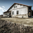 Decrepit house - Foto Stock