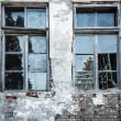Broken window — Stockfoto #9466104