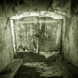 Stock Photo: Grunge basement entrance