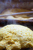 Hot polenta — Stock Photo