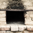 Antique brick oven - 图库照片