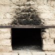 Antique brick oven - Stock Photo