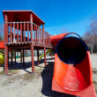 Worn playground — Stock Photo