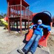 Boy in a playground — Photo