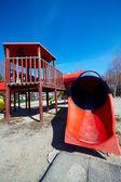 Worn playground — Stock Photo