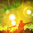 Music event background. Vector eps10 illustration. - Imagen vectorial