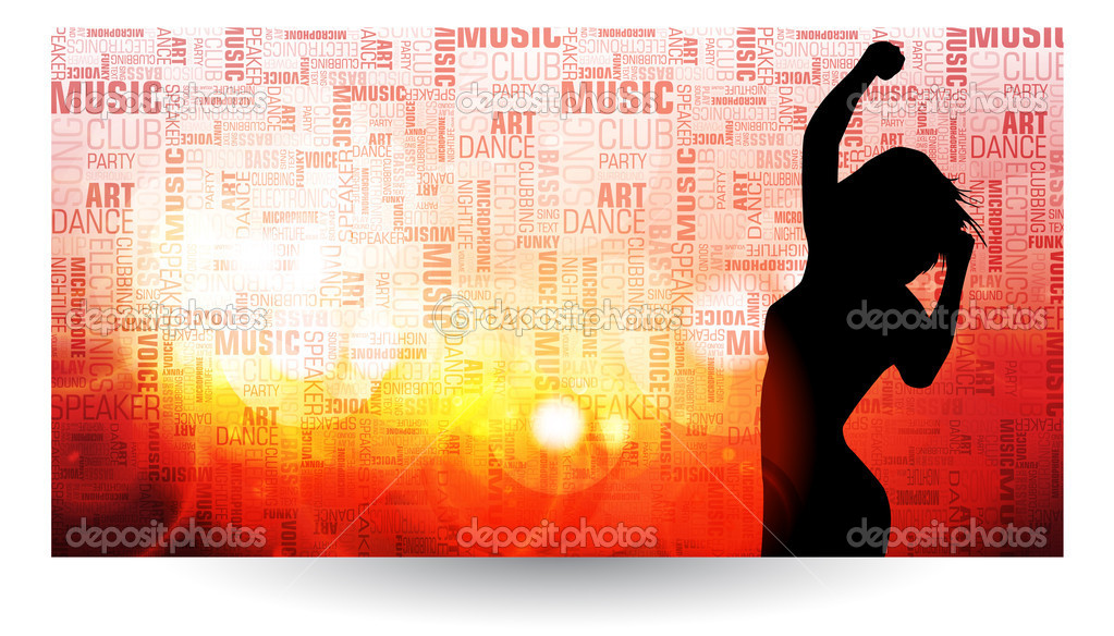 Music event background. Vector eps10 illustration.  — Stock Vector #10426363