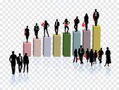 Abstrakt business-hintergrund — Stockvektor