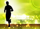 赛跑者 — 图库矢量图片