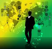 Concetto di business — Vettoriale Stock