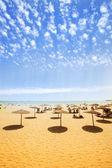 Praia paradisíaca de mar quente — Fotografia Stock