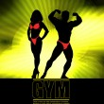 Bodybuilding. Vector illustration. — Stock Vector