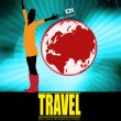 Travel — Vector de stock #8574158