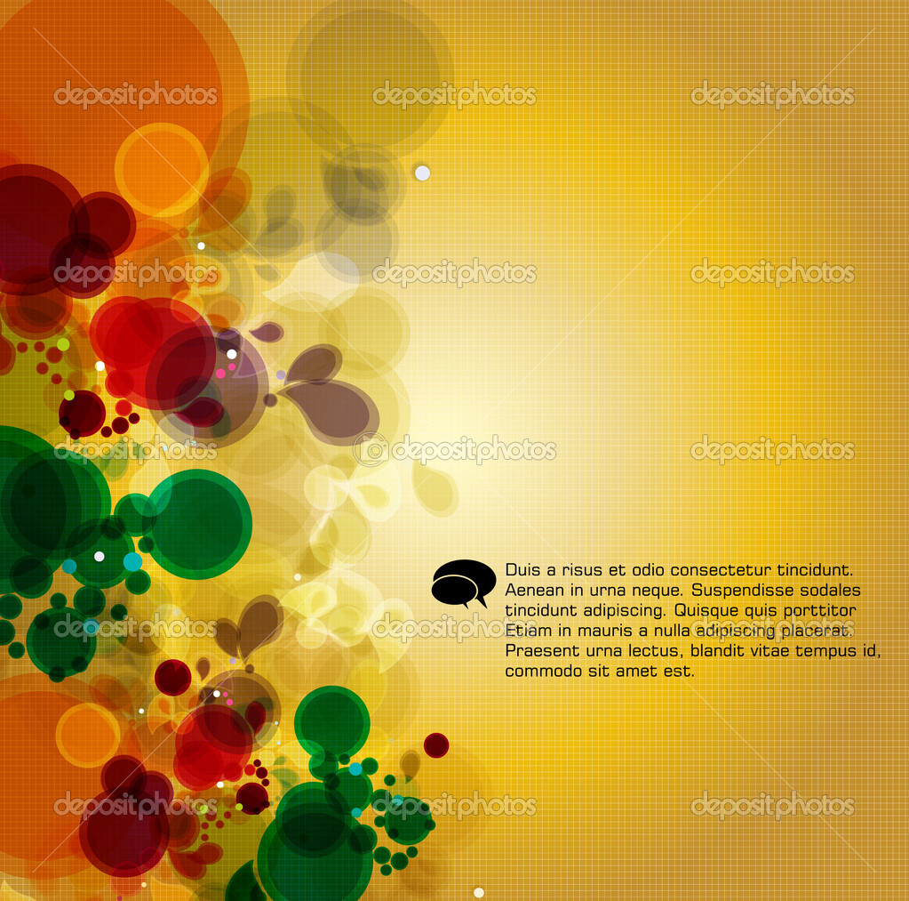 Abstract vector background — Stock Vector #8574933