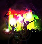 Music event background. Vector eps10 illustration. — Stock Vector