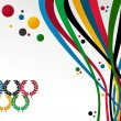 London Olympics Games 2012 background — Stock Vector