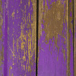 Vintage wooden old painted door — Stock Photo
