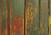 Vintage wooden old painted wall — Stock Photo