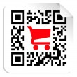 Royalty-Free Stock Imagem Vetorial: Buy label sign QR code