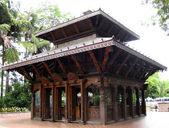 Templo budista en jardines — Foto de Stock