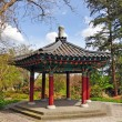Asian gazebo — Stock Photo