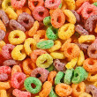 Colorful breakfast cereal — Stock Photo #8813096