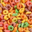 Colorful breakfast cereal — Stock Photo