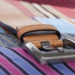 Tie and belt — Stock Photo #9398023
