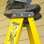 Постер, плакат: Ladder safety concept
