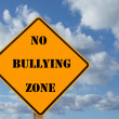 No bullying sign — Stock Photo