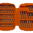 Stock Photo: Assorted screwdriver bits