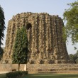 Stock Photo: Incomplete Structure near Qutub