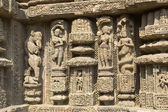 Finesse in Temple Carving — Stock Photo