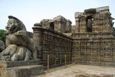 Sun temple at Konark — Stock Photo